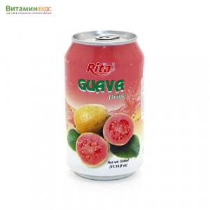 Напиток со вкусом Гуавы RITA, 330мл.