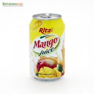 Напиток со вкусом Манго RITA, 330мл.