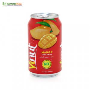 Напиток со вкусом Манго VINUT, 330мл.