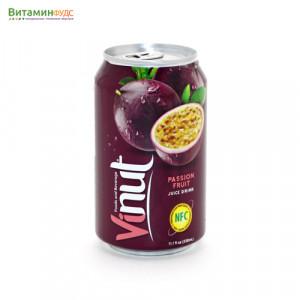 Напиток со вкусом Маракуйи VINUT, 330мл.