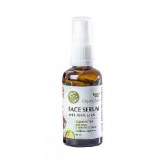 Сыворотка для лица с AHA-кислотами, с лифтинг-эффектом OZ! OrganicZone