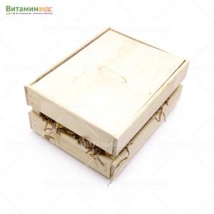 Деревянный подарочный ящик светлый S