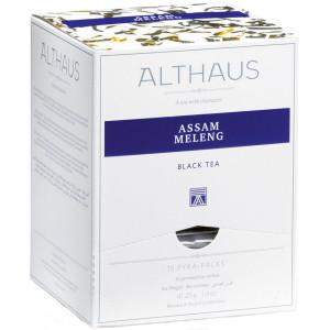 ALTHAUS Чай черный Ассам Меленг пирамидки 15х2,75 гр