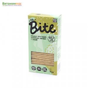 Хлебцы хрустящие кукурузно-рисовые с луком BITE, 150г