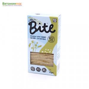 Хлебцы хрустящие рисово-гречневые BITE, 150г