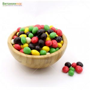 Изюм в цветной шоколадной глазури