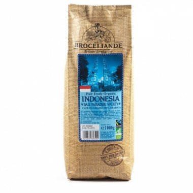 Кофе Broceliande Indonesia Bali Paradise Valley зерно, 1000г