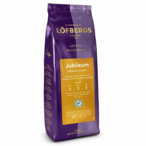 Кофе в зернах Lofbergs Jubileum, 400г