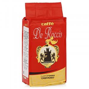 Кофе De Roccis Qualita Rossa Cremoso молотый, 250г