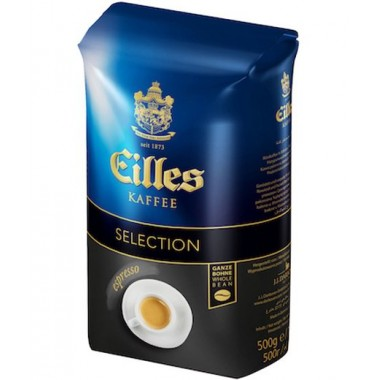 Кофе EILLES Selection Espresso в зернах, 500г