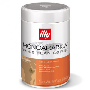 Кофе ILLY Ethiopia в зернах, 250г