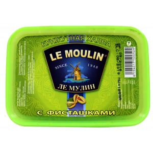 Халва кунжутная Le Moulin с фисташками  150г