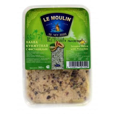Халва кунжутная Le Moulin с фисташками  350г