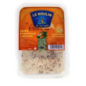 Халва кунжутная Le Moulin с миндалем 350г