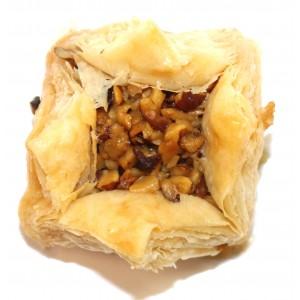 Пахлава розочки с грецким орехом