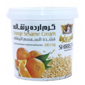 Кунжутный крем со вкусом апельсина 200 гр