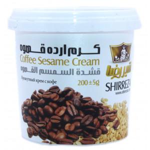 Кунжутный крем со вкусом кофе 200 гр
