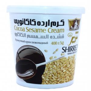 Кунжутный крем шоколадный 400 гр