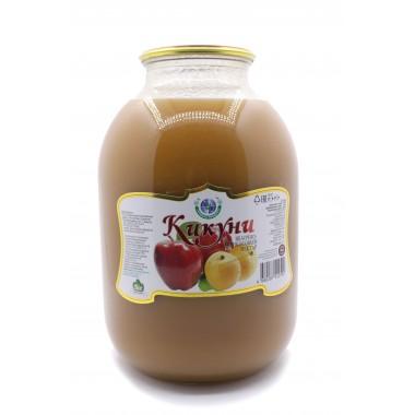 """Натуральный сок """"КИКУНИ"""" яблоко абрикос 3л"""
