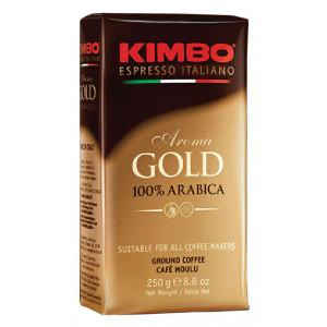 Кофе KIMBO Aroma Gold молотый, 250г