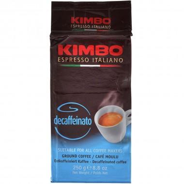 Кофе KIMBO Decaffeinato молотый, 250г