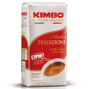 Кофе KIMBO Export Antica Tradizione молотый, 250г