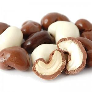 Кешью в шоколадной глазури
