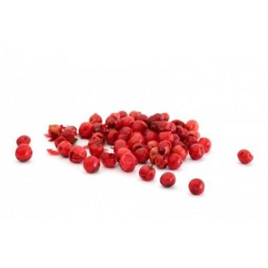 Красный перец горошком