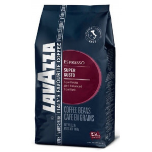 Кофе LAVAZZA Super Gusto зерно, 1000г