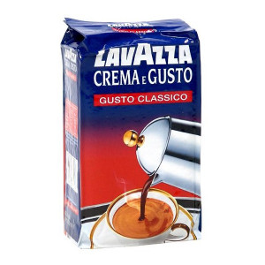 Кофе LAVAZZA Crema e Gusto Classico молотый, 250г