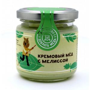 Кремовый Мёд с Мелиссой 220г