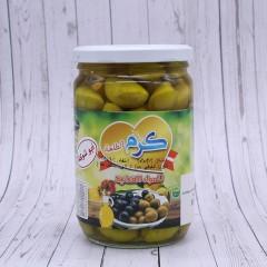 """Оливки зеленые с косточкой """"Karam""""  660 гр."""