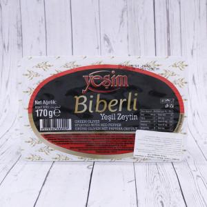 "Оливки biberli ""Yesim"", 170г."