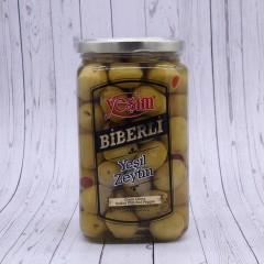 """Оливки с перцем biberli """"Yesim"""", 500г."""