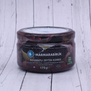 """Паста из черных оливок """"Marmarabirlik"""" 175г."""