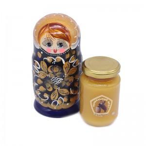 """Мед в подарочной упаковке """"Матрёшка"""" 250 гр"""