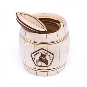 Мед Натуральный в бочонке 500 гр
