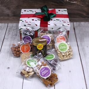 """Новогодняя коробочка """"Подарок Санты"""" большая"""