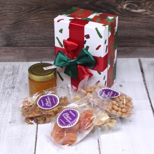 """Новогодняя коробочка """"Подарок Санты"""" маленькая"""