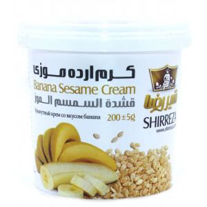 Кунжутный крем со вкусом банана 200 гр