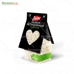 Рис для плова Басмати экстрадлинный Bravolli 350 г