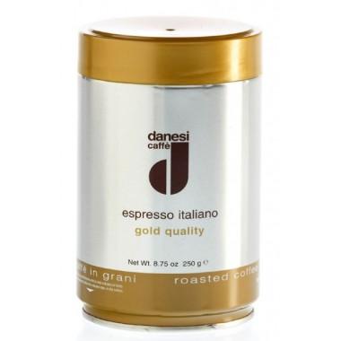 Кофе Danesi Gold в зернах, 250г