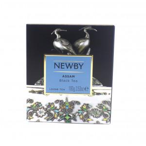 Чай NEWBY черный Assam листовой 100 г