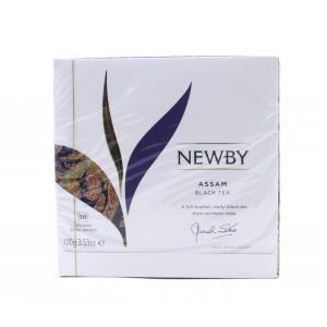 Чай NEWBY черный Assam, 50 пакетиков 100 г