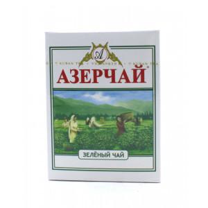Чай АЗЕРЧАЙ зеленый байховый высшего сорта 100 г
