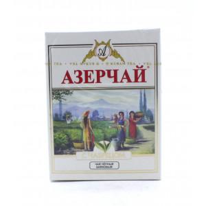 Чай АЗЕРЧАЙ черный байховый высшего сорта с чабрецом 100 г