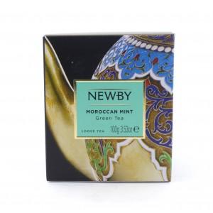 Чай NEWBY зеленый Марокканский с мятой 100 г