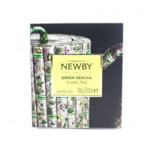 Чай зеленый NEWBY Зеленая сенча 100 г