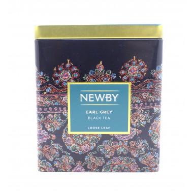 Чай NEWBY черный Эрл грей 125 г