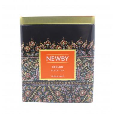Чай NEWBY черный Цейлон 125 г